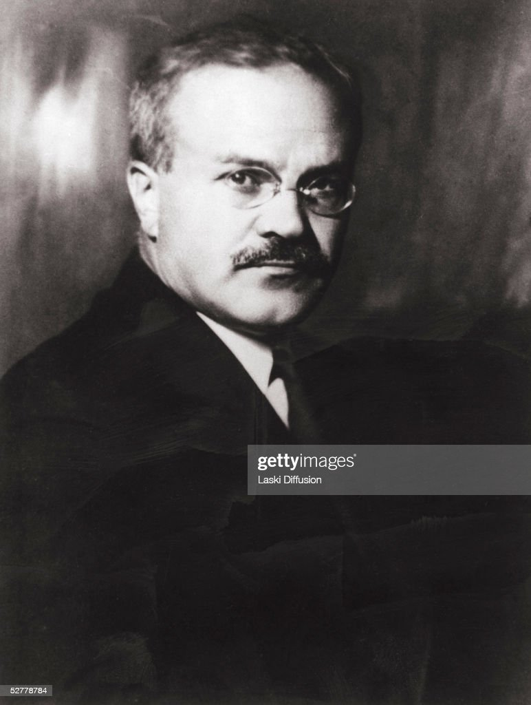 Soviet politician and diplomat Vyacheslav Mikhailovitch Molotov (1890 - 1986), during his tenure as Foreign Minister, 1941. Laski Diffusion/Getty Images)