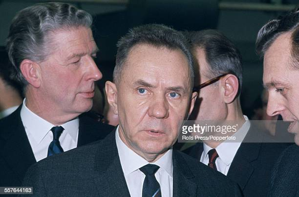 Soviet Premier and statesman Alexei Kosygin pictured in London during a diplomatic visit to the United Kingdom in February 1967