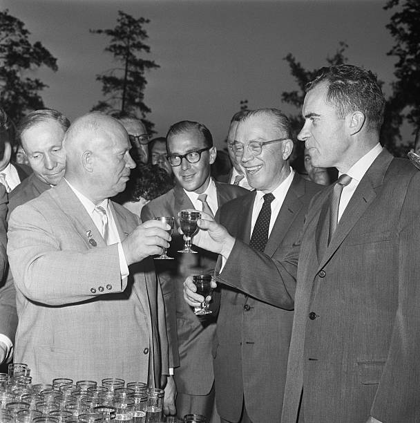 RUS: 24th July 1959 - The Kitchen Debate Between Nixon And Khrushchev