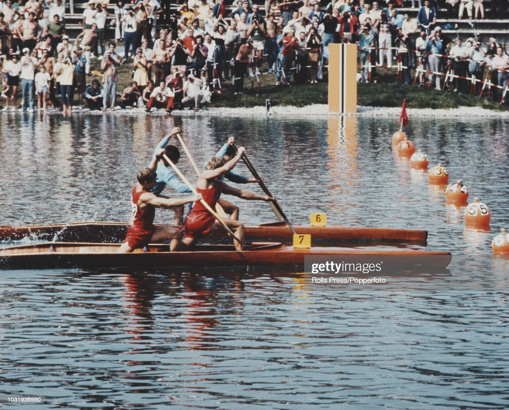 Rowing At XX Summer Olympics : News Photo