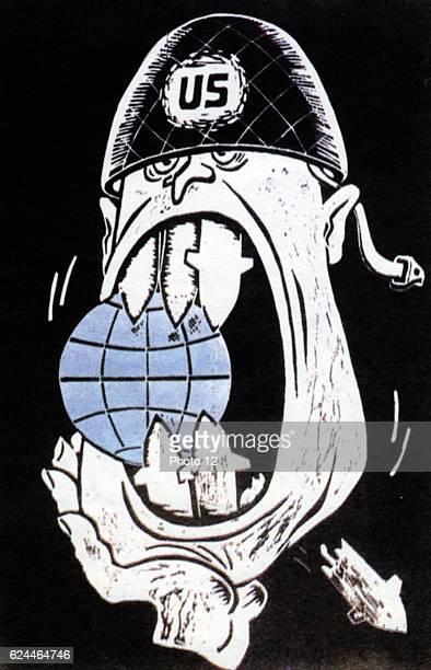 Soviet Russian cartoon from the Cold War Era 1960's