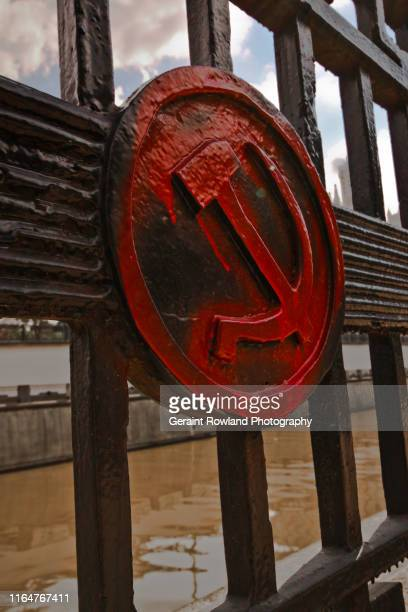 soviet sign, moscow - anticommunist stock pictures, royalty-free photos & images