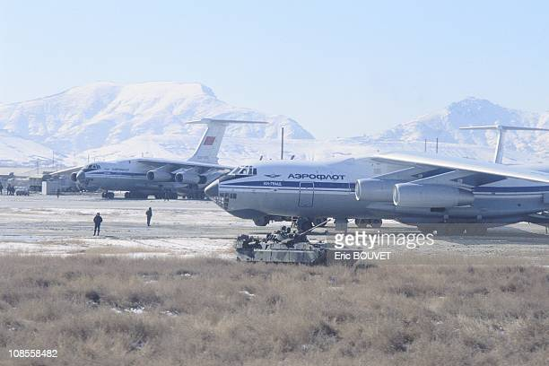 Soviet soldiers leave Kabul Afghanistan on February 06th 1989