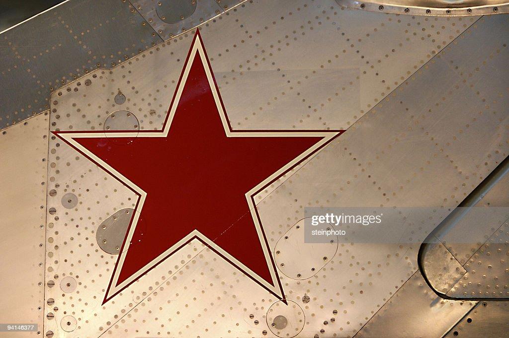 Sowietisches Star : Stock-Foto