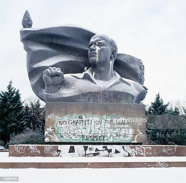Soviet statue of Lenin