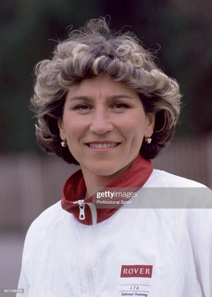 Soviet tennis player Olga Morozova, circa 1991.