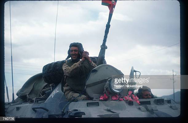 Soviet troops leave Afghanistan May 15 1988 in Kabul Afghanistan In May 1988 Afghanistan Pakistan the USSR and the United States signed agreements...