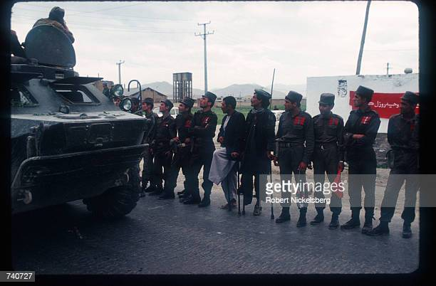 Soviet troops prepare to leave May 15 1988 in Kabul Afghanistan In May 1988 Afghanistan Pakistan the USSR and the United States signed agreements...