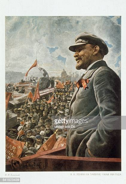 Soviet Union Lenin *22041870 Politician USSR Lenin at a speech on May Day undated