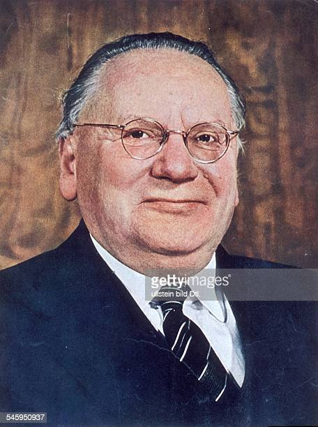 Soviet Union Litvinov, Maxim *05.07.1876-+ Politician, USSR People's commissar for external affairs of the USSR Portrait - around 1950