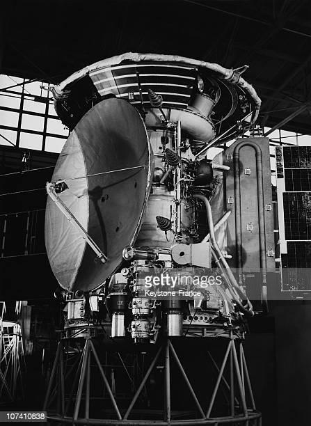 Soviet Union. Mars Iii, The Spatial Vehicle Sent On Mars On The Seventies.