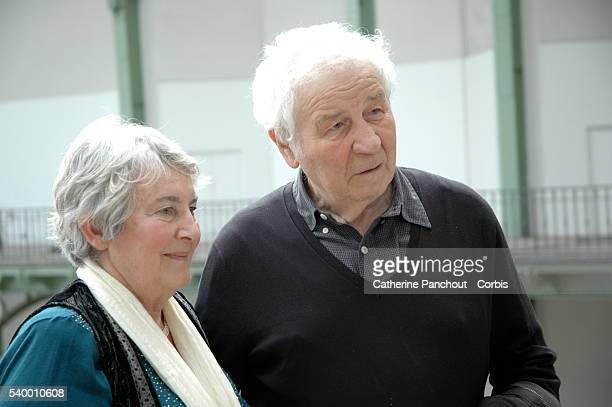Sovietborn American conceptual artist Ilya Kabakov works with Emilia his niece who would later become his wife Here on the occasion of their...