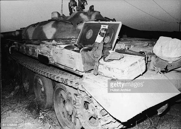 Sovietbuilt T62 tank captured by the Israelis during the Yom Kippur War October 1973 The Israelis captured large numbers of the latest Soviet...