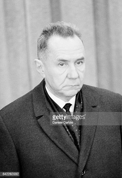 SovietRussian Chairman of the Council of Ministers Alexei Kosygin on visit in Paris