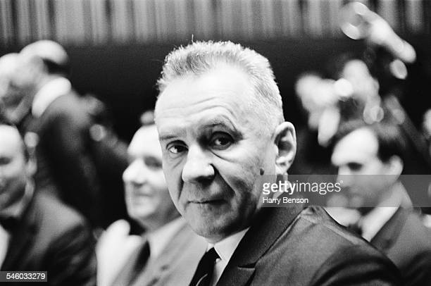 SovietRussian statesman Alexei Kosygin at the United Nations General Assembly 1967