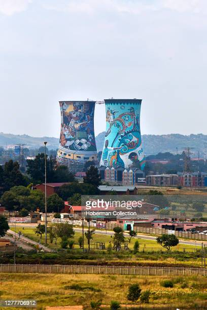 Soweto Towers at Orlando Power Station, Johannesburg, South Africa