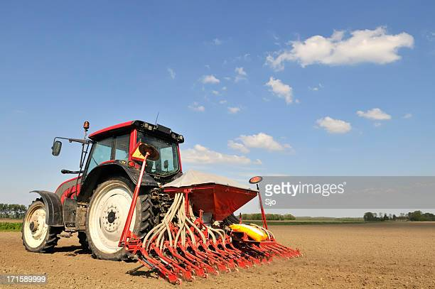 Sowing tractor