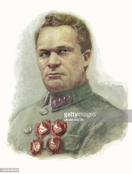 Sowjetunion, Sowjetarmee, Offiziere :Jegorow, Alexander Iljitsch1883-1939)Offizier, Marschall der SU General der Roten Armee im Bürgerkrieg...