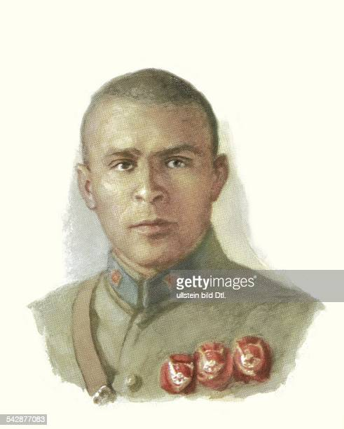 Sowjetunion Sowjetarmee Offiziere Primakow Vitali Markowitsch18971937Kavalleriekommandeur im Bürgerkrieg 191820Kommandeur des Reiterkorps der Roten...