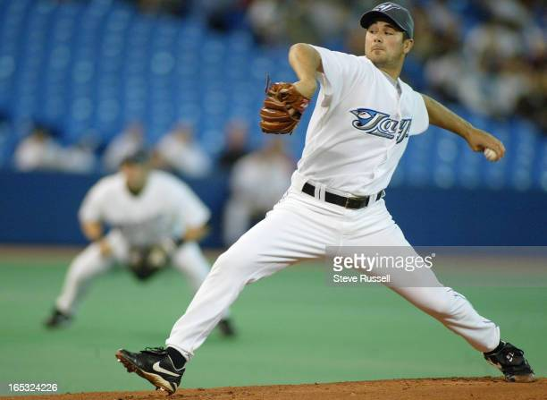 Ted Lilly started strong until the fourth inning when he gave up a three run homer as the Toronto Blue Jays take on the Chicago White Sox at the...