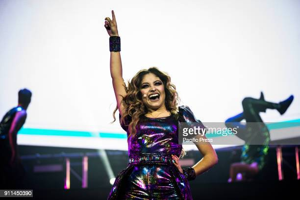 PALALOTTOMATICA ROMA ITALY Soy Luna is a Mexican telenovela produced by Disney Channel Latin America she performs in Rome at Palalottomatica
