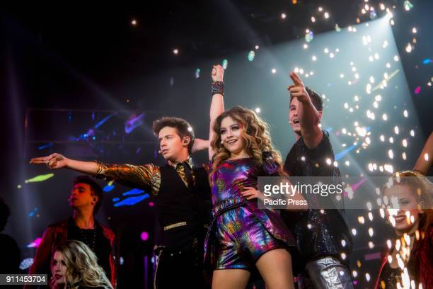 PALALOTTOMATICA ROME ITALY Soy Luna Live in Rome the famous Disney Channel TV series arrives in Italy for the joy of all teenagers