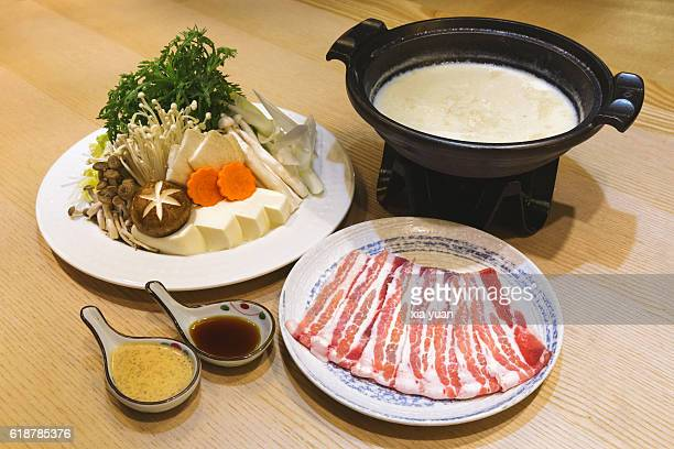 Soy Milk Hot Pot (Tonyu Nabe)