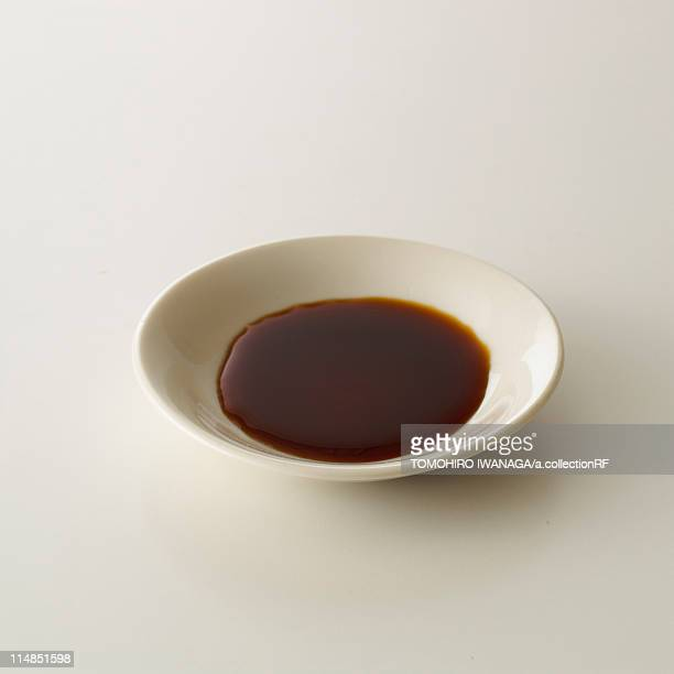 soy sauce in bowl - soy sauce stock photos and pictures