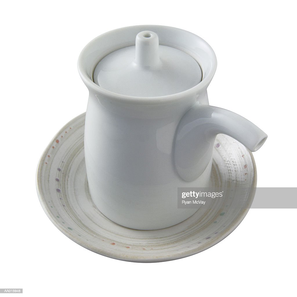 Soy sauce pitcher : Stock Photo