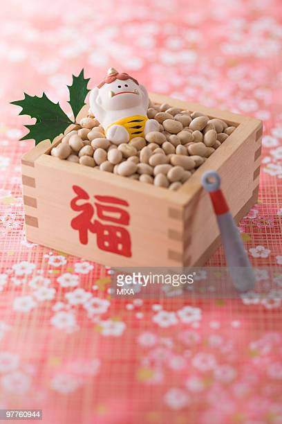 Soybean and ornament of evil