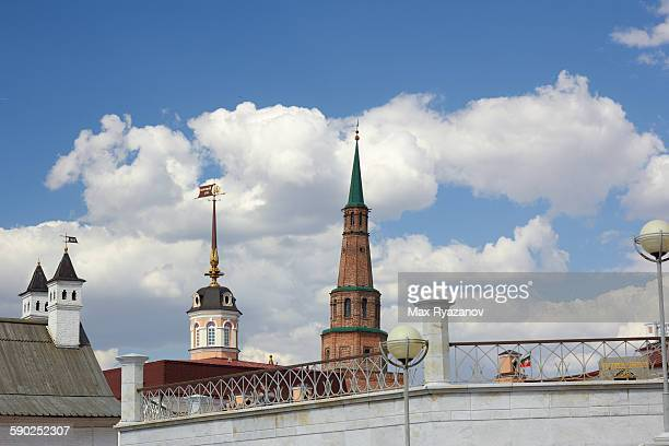 Soyembika leaning tower in Kazan Kremlin