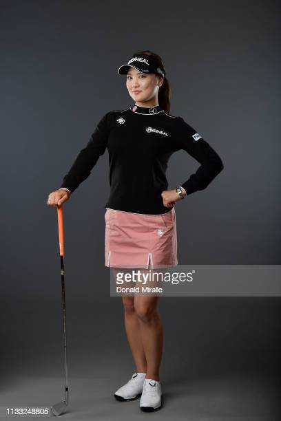 So-yeon Ryu of South Korea poses for a portrait at the Park Hyatt Aviara Resort on March 27, 2019 in Carlsbad, California.