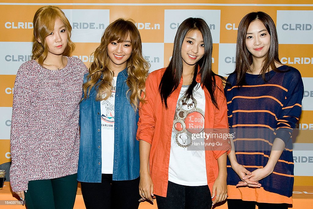 Sistar Autograph Session For CLRIDE.n