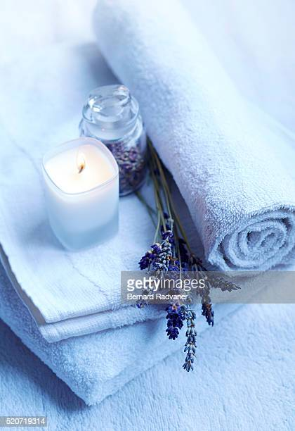 Spa ambiance in beauty parlor