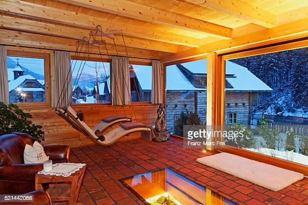 spa at hotel moserhof, penk, moelltal, carinthia, austria - moserhof stock-fotos und bilder