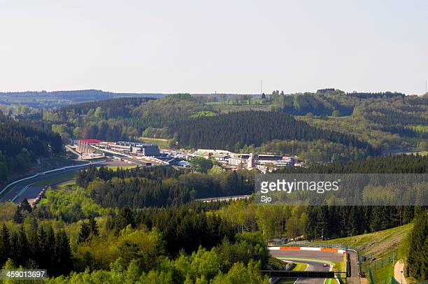 spa francorchamps - motor racing track stock pictures, royalty-free photos & images