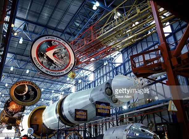 nasa space center, florida - nasa kennedy space center stock pictures, royalty-free photos & images