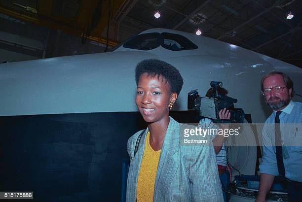 Mae C Jemison a Los Angeles doctor who is the first black female named to the astronaut corps says 8/24 I'm afraid of being in the program I have...
