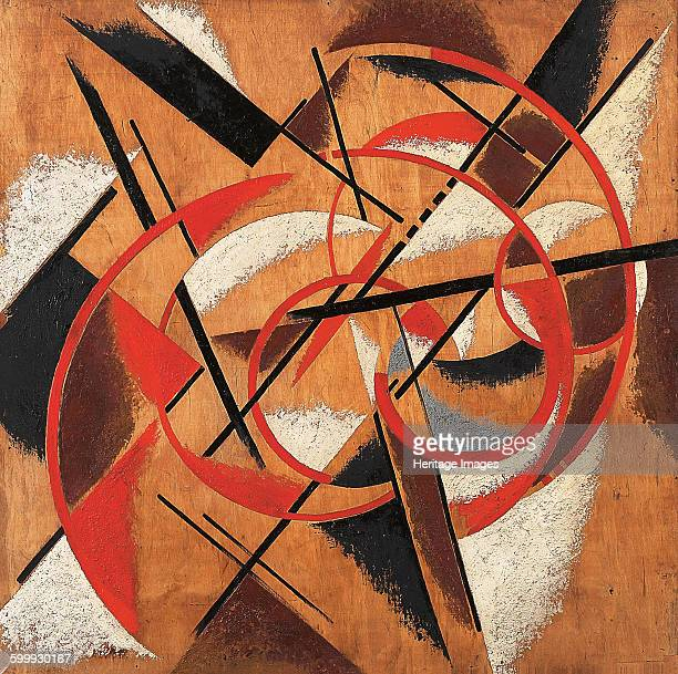 Space Force Construction 19201921 Found in the collection of State Museum of Contemporary Art Thessaloniki Artist Popova Lyubov Sergeyevna