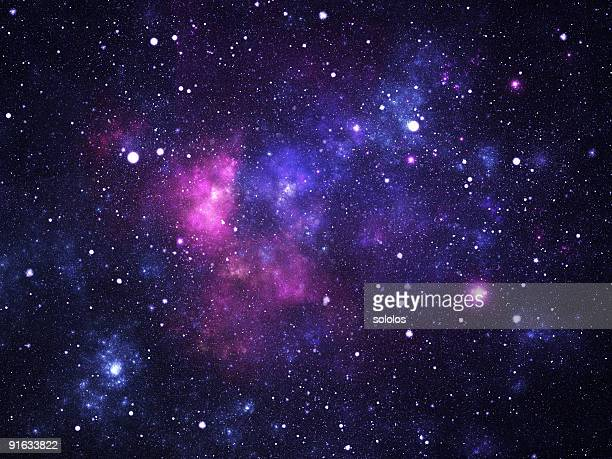 space galaxy - purple stock pictures, royalty-free photos & images