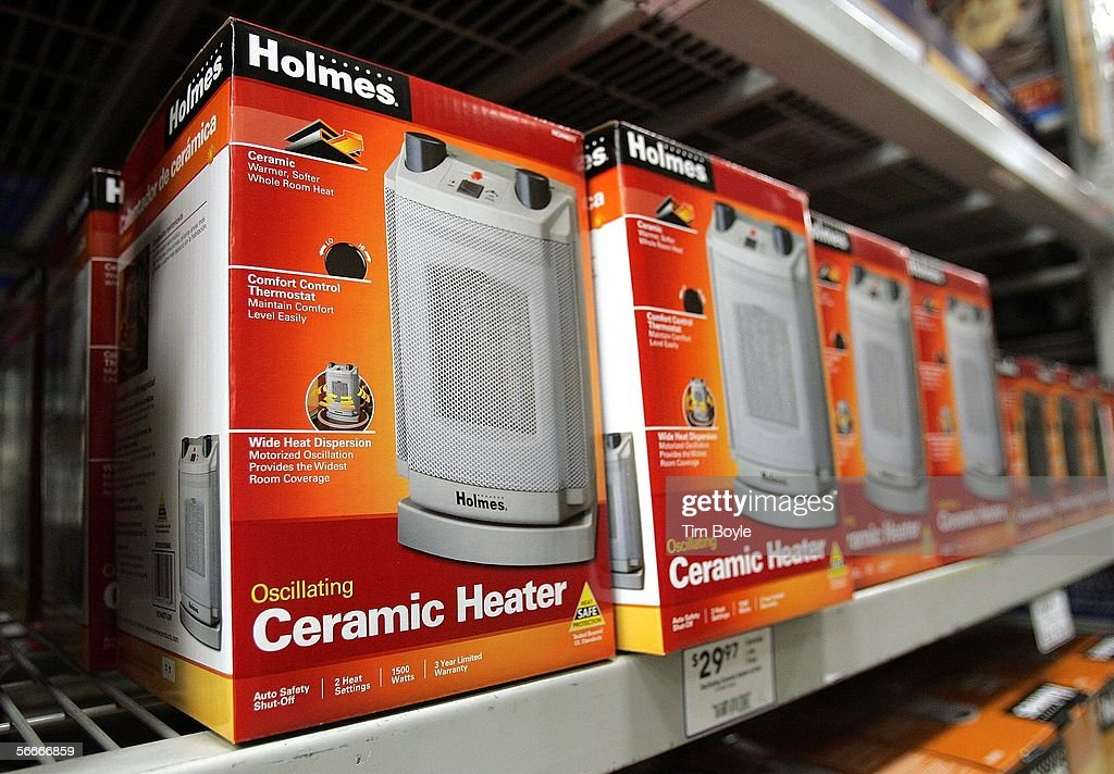 Space Heaters Lie On Display In A Loweu0027s Home Improvement Store January 25,  2006 In