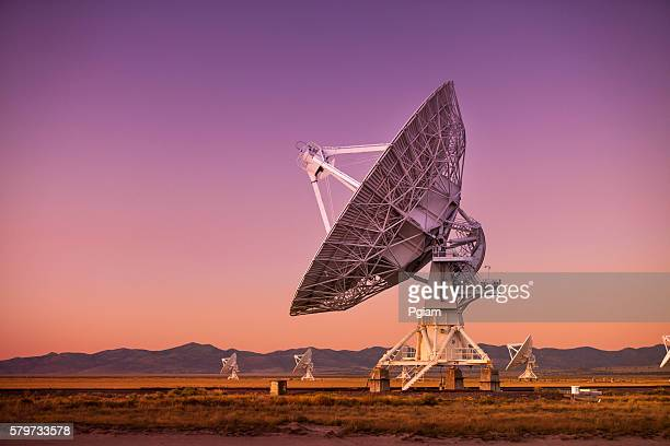 space observatory signal search - copy space stock pictures, royalty-free photos & images