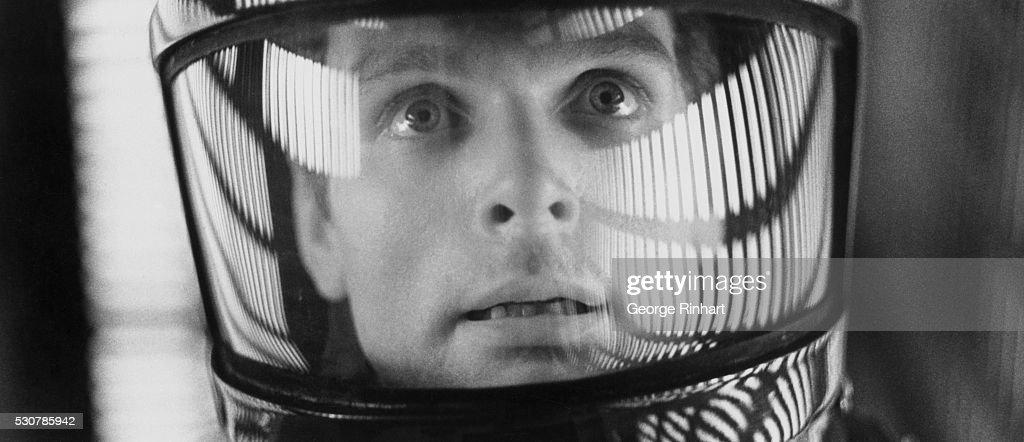 Movie Scene from 2001: A Space Odyssey : News Photo