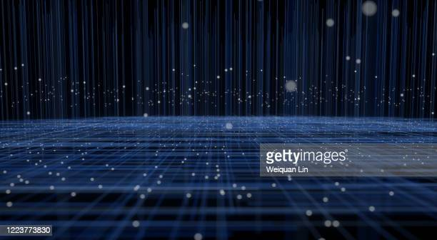 3d space particles - fujian province stock pictures, royalty-free photos & images