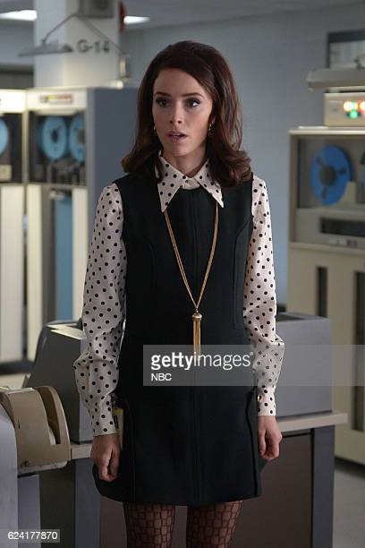 TIMELESS 'Space Race' Episode 107 Pictured Abigail Spencer as Lucy Preston