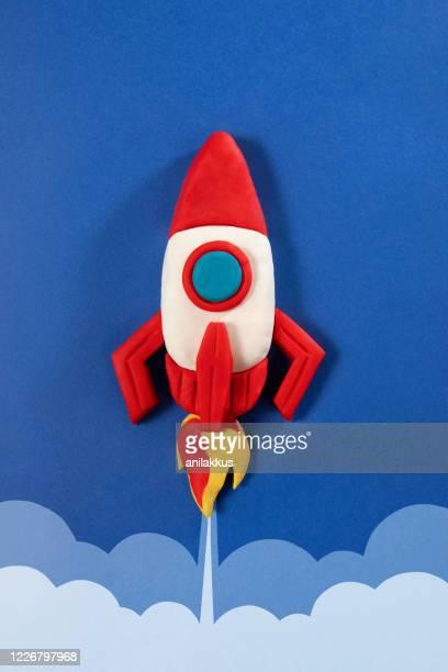 宇宙ロケット - 粘土 ストックフォトと画像