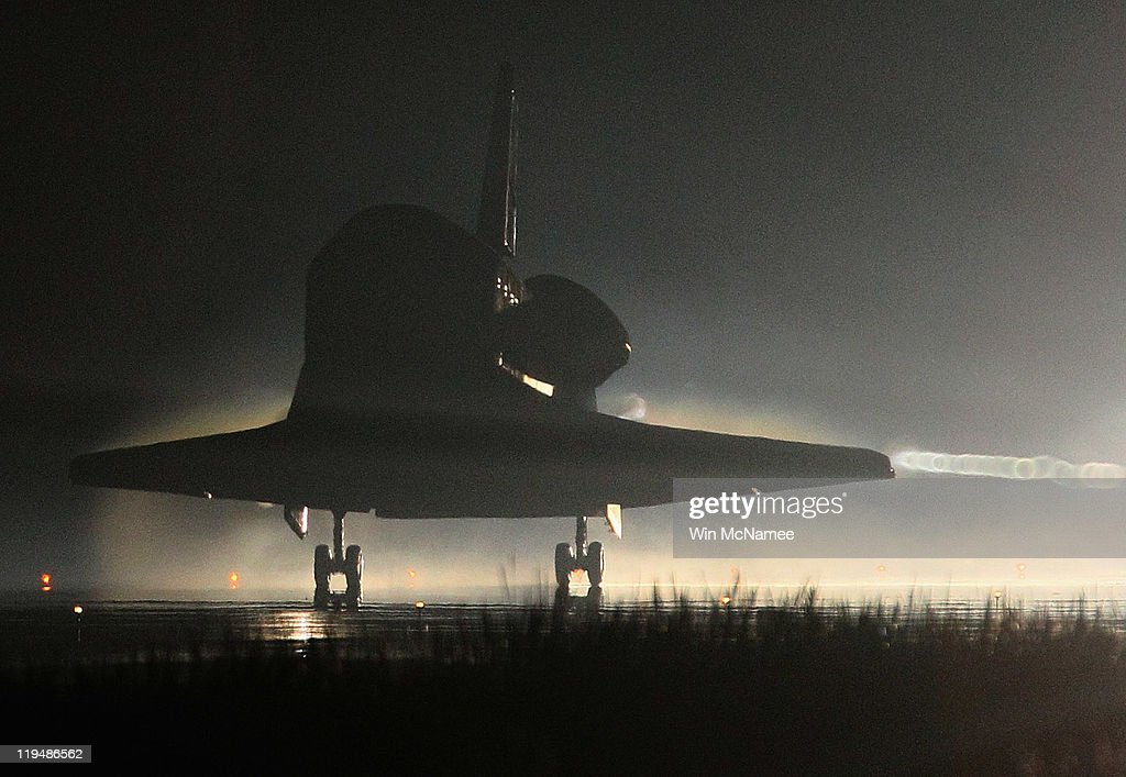Atlantis Returns From Final Mission Of Space Shuttle Program : News Photo