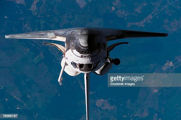 space shuttle atlantis - space shuttle atlantis stock pictures, royalty-free photos & images