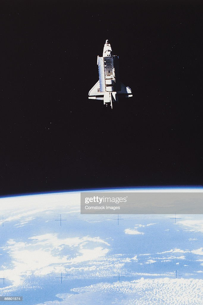 Space shuttle Challenger : Stock Photo