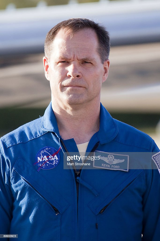 Shuttle Astronauts Arrive At Cape Canaveral Ahead Of Launch